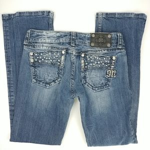 Miss Me for Buckle Low Rise Boot Cut Jeans 29
